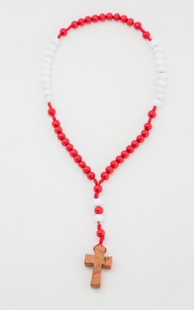 Rosenkranz Rot Weiß Rot