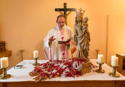 Segnung der Gott Kann Rosenkränze