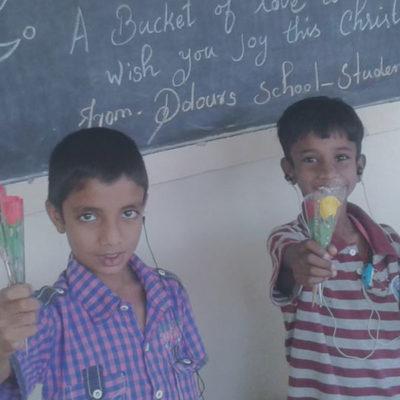 Gerhörlose Kinder Indien