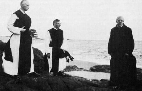 Abt Alois Wiesinger OCist Atlantik