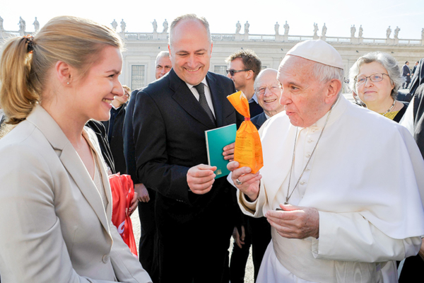 Papst Franziskus Missio
