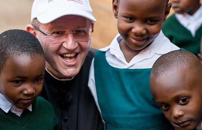Pater Karl Wallner - Missionarisch