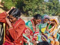 Frauen in Indien fürchten sich vor der Verfolgung