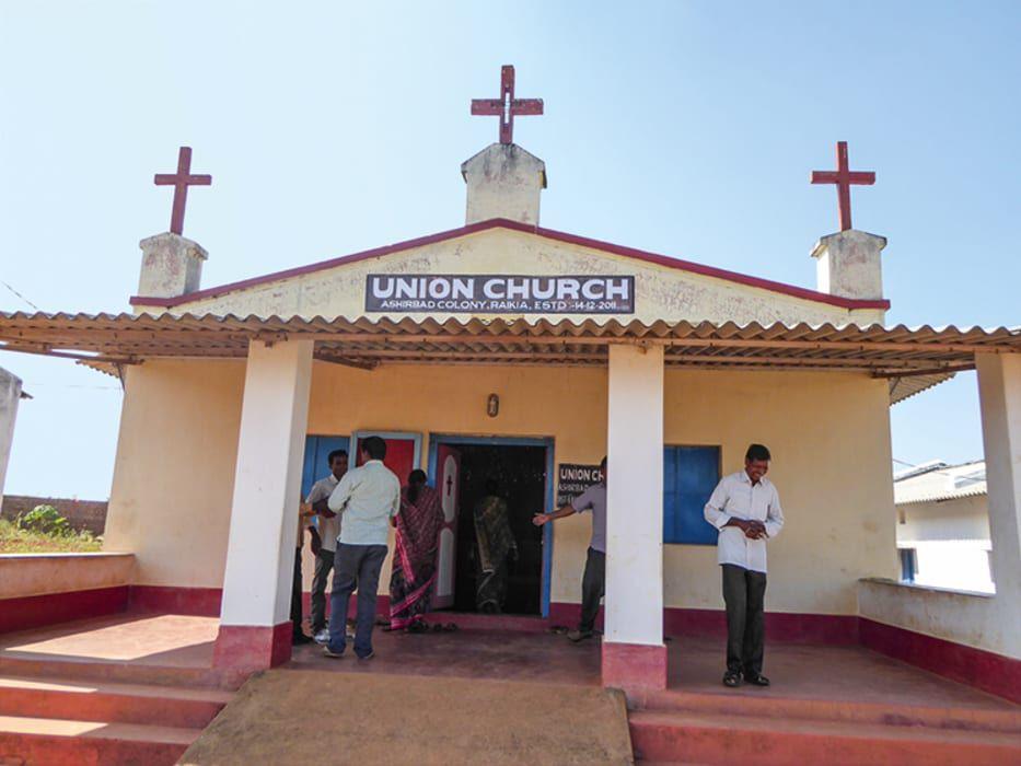 Kirche in Kandhamal