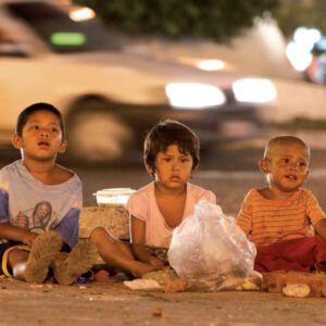 Strassenkinder Peru