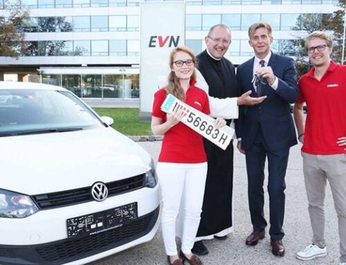 Autoübergabe an Missio Österreich