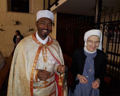 Abba Petros Berga aus Äthiopien in der Diözese Linz