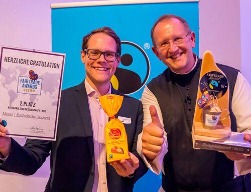 Unsere Jugendaktion gewinnt den Fairtrade Award