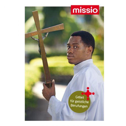 Gebetskarte für Geistliche Berufe