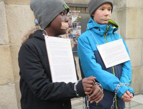 Linz: Aktionstag für die Opfer von Menschenhandel