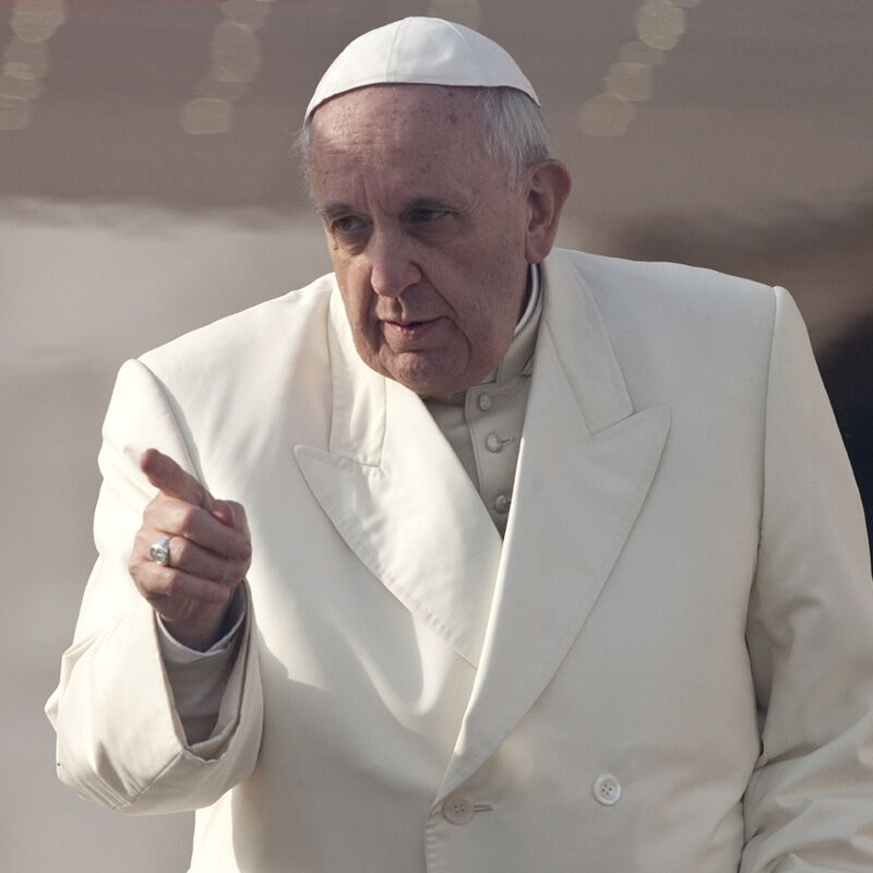 Papst Franziskus gegen Menschenhandel