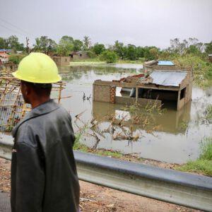 Zerstörung nach Zyklon in Mosambik