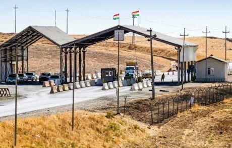 Militärischer Checkpoint