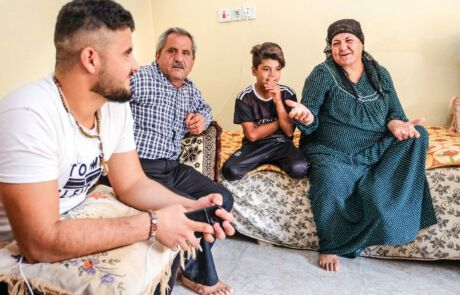 Christliche Familie im Irak