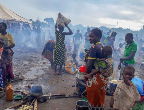 Menschen leben in Malawi unter erbärmlichen Umständen