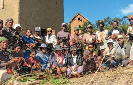Die Teilnehmer des Vozama Projekts