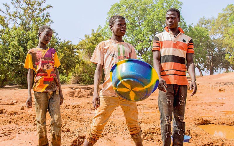 Burkina Faso: Kinderarbeit in Goldminen