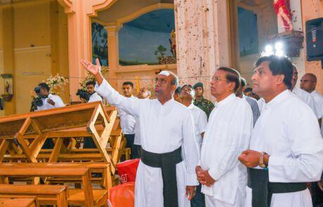 Siri Lanka Terror Anschlag in der Kirche