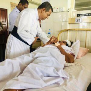 Soforthilfe nach Terror auf Sri Lanka
