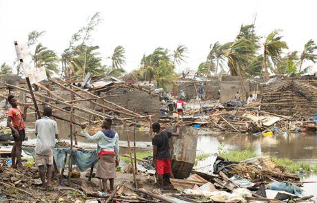 ZyklonIdai in Mosambik