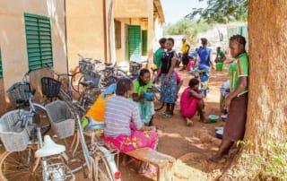 Im Herzen Burkina Fasos finden Mädchen Zuflucht, die zur Heirat gezwungen wurden.
