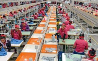 Textilindustrie in Äthiopien