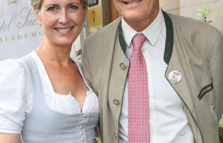 Karl Hohenlohe mit Ehefrau