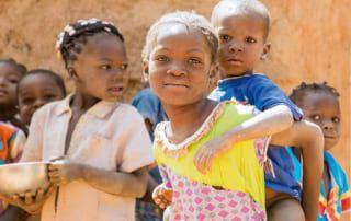 Kinder in Burkina Faso