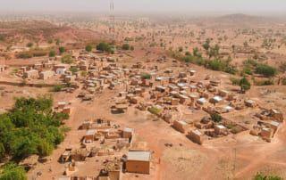 Landschaft von Burkina Faso