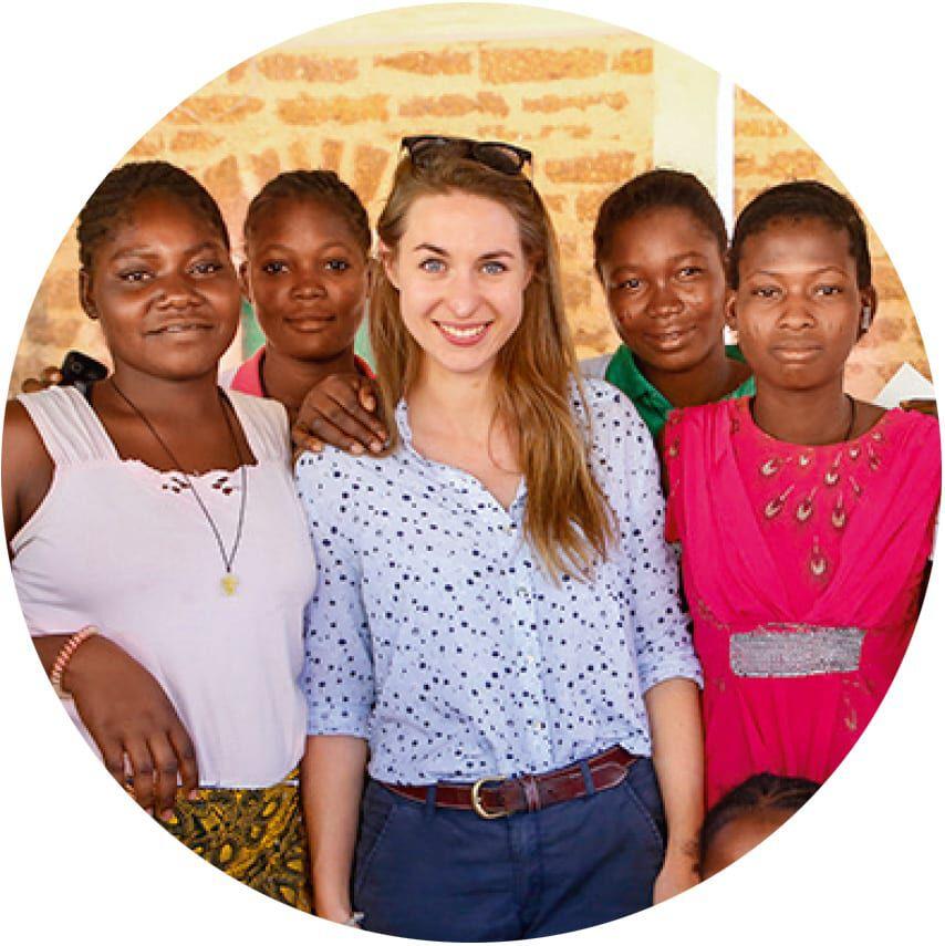 Lena Hallwirth in Burkina Faso