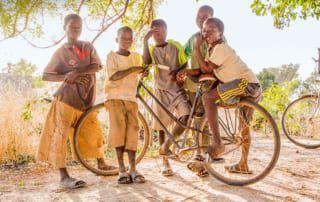 Schulkinder in Burkina Faso