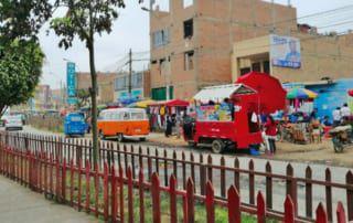 Straße in Peru