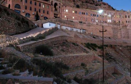 Mar-Mattai diente Flüchtenden als Versteck.