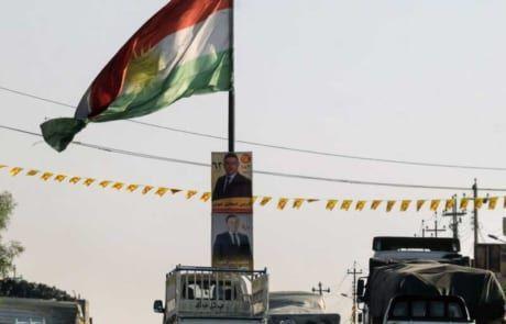 Flagge der Autonome Region Kurdistan