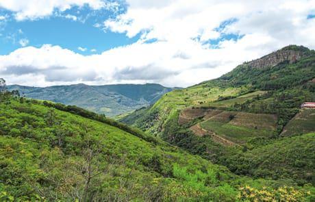 Die Anden in Bolivien