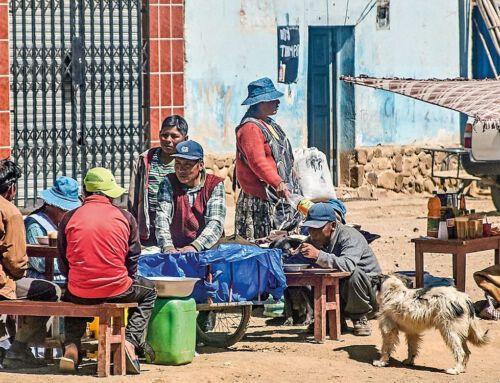 Entspannt im Chaos von Bolivien