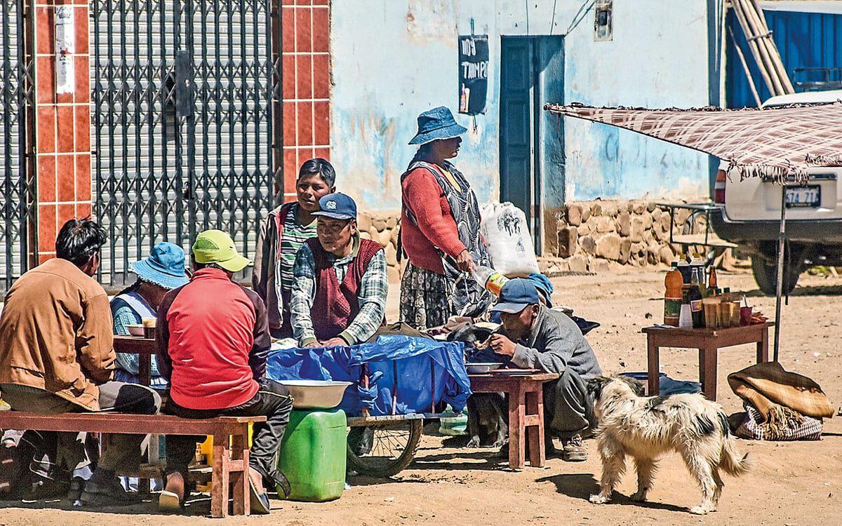 Einwohner aus Bolivien