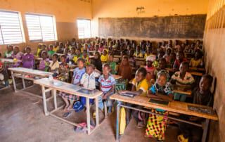 Schule in Burkina Faso