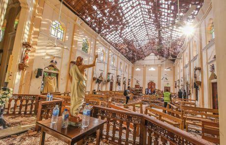 Selbstmordattentat in Sri Lanka