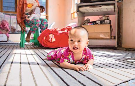 Aufnahmehaus für schwangere Frauen in Myanmar