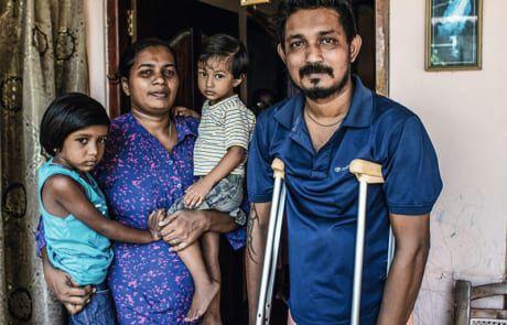 Familie wurde beim Anschlag in Sri Lanka verletzt