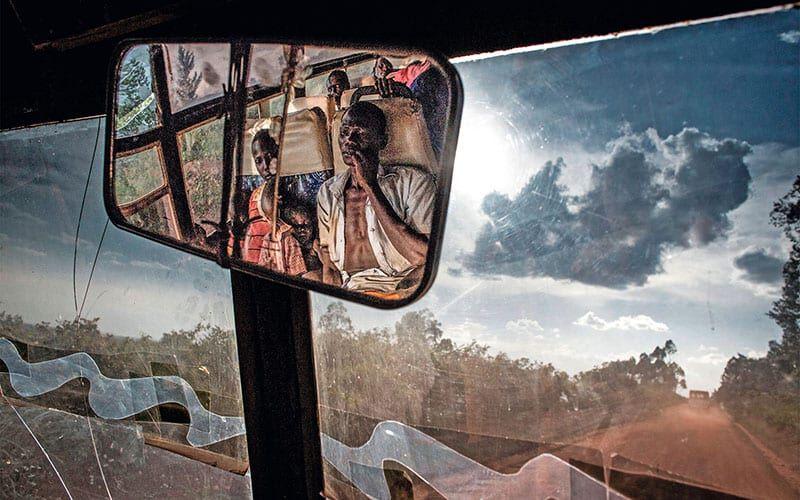Menschen flüchten aus dem Südsudan
