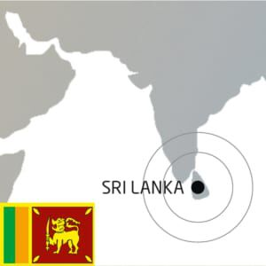 Standort Sri Lanka