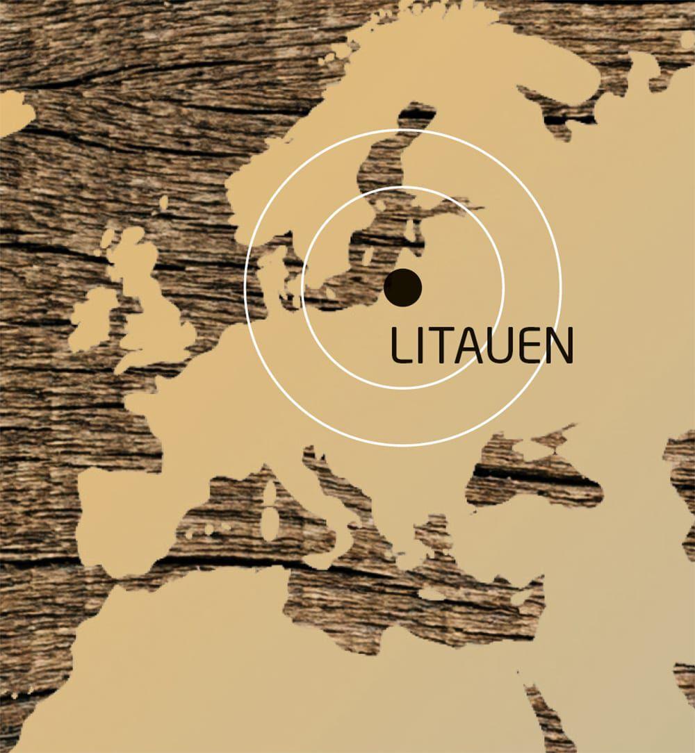 Karte-Litauen