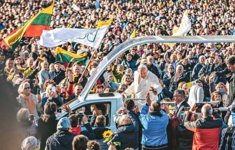 Papst Franziskus in Litauen