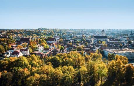 schöne Landschaft Litauen