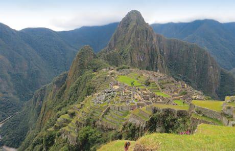 Landschaft in den Anden
