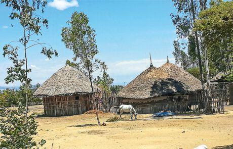 Häuser in Äthiopien