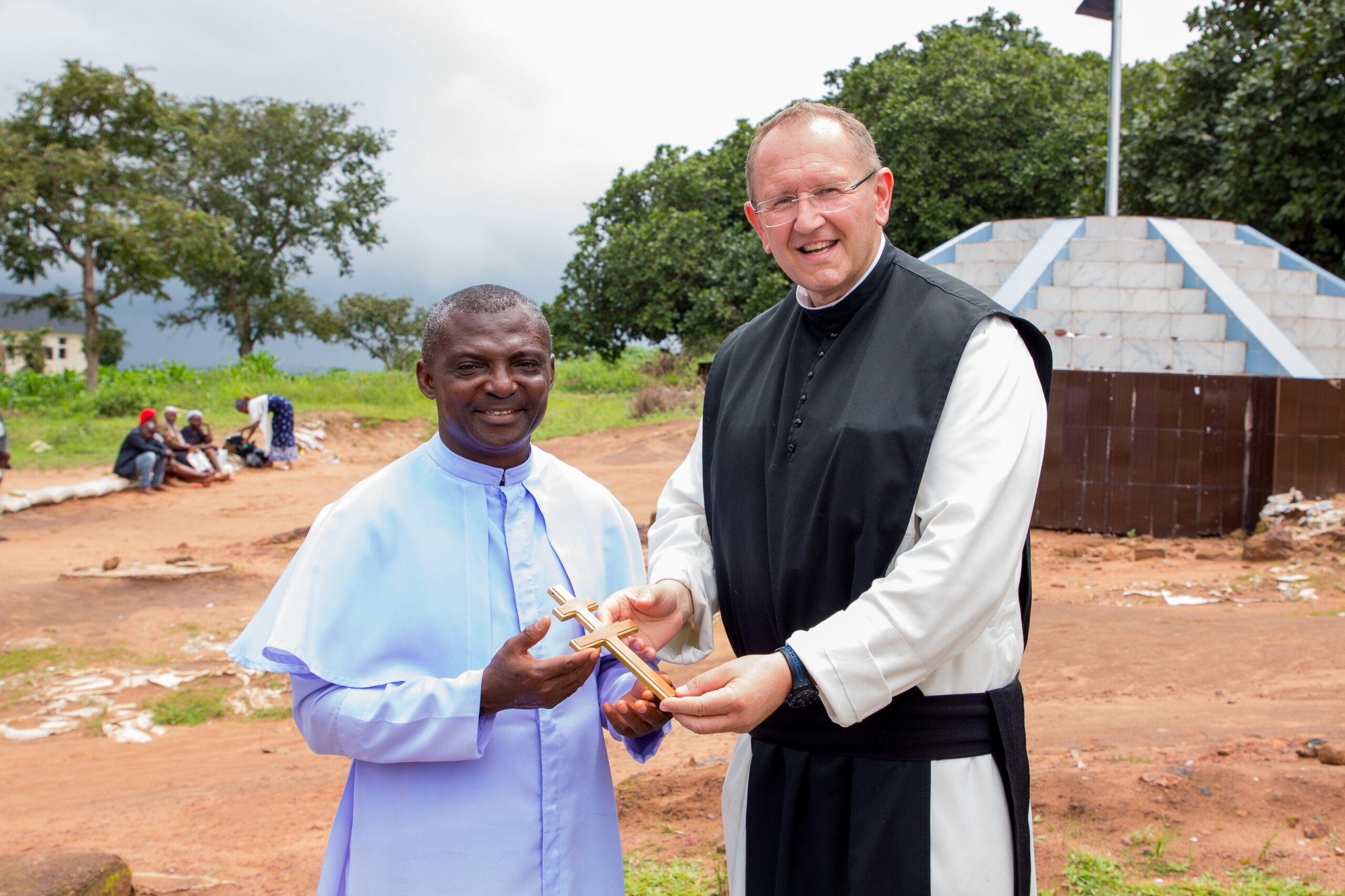 Pater Karl Wallner zu Besuch in Nigeria