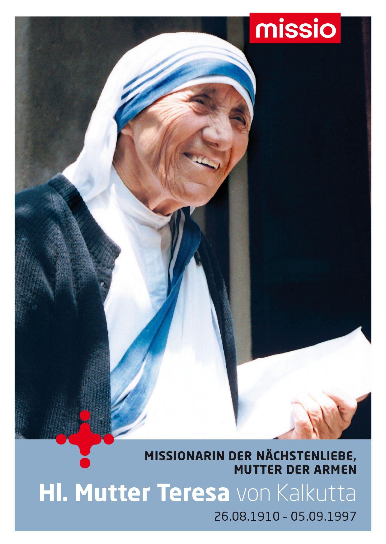 Hilfestellungen bei der Corona-Krise - Mutter Teresa
